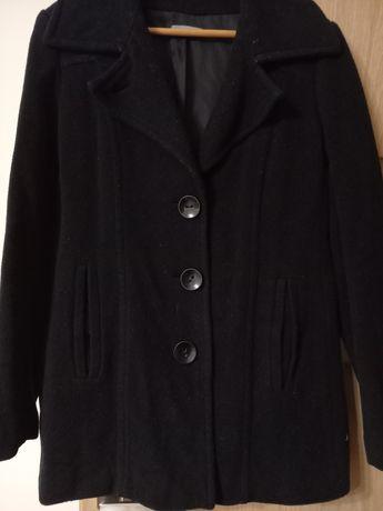 Czarny płaszcz 40