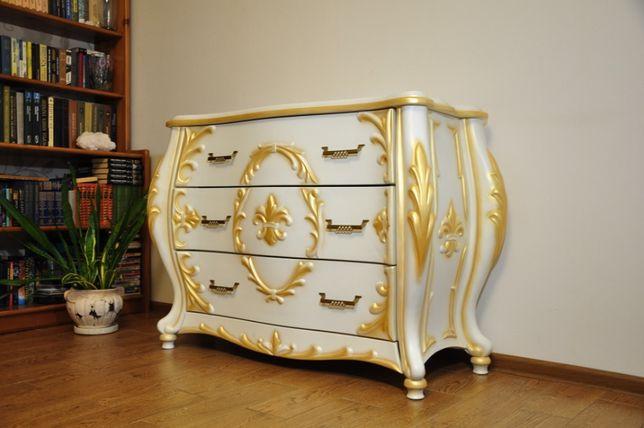 Комплект мебели в стиле барокко/рококо ( комод, туалетный столик с зе