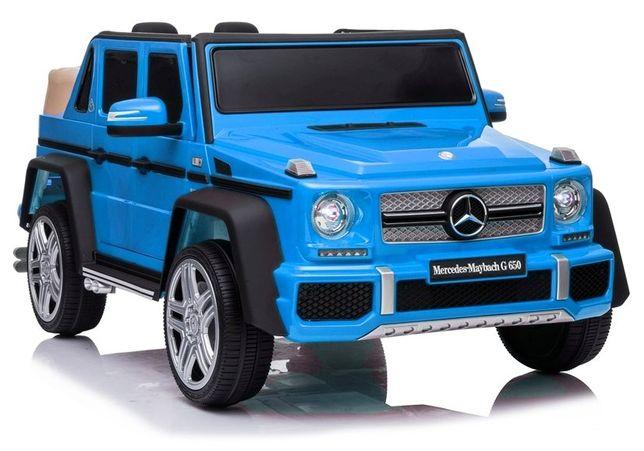 Pojazd na akumulator Mercedes A100 niebieski/czerwony/czarny