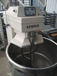 Тестомесы Kemper sp125, Diosna sl120