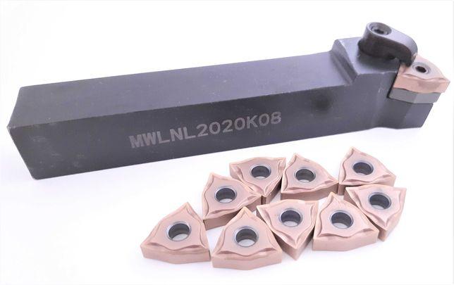 Nóż MWLNL 2020 K08 + 10 PŁYTEK WNMG 08