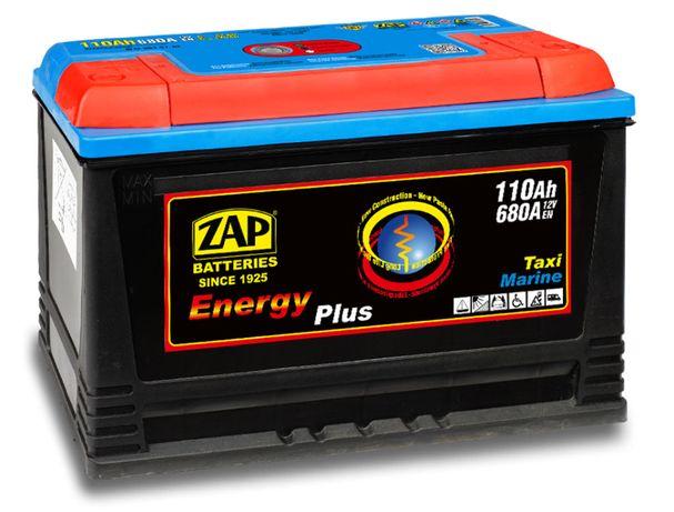 Akumulator ZAP 110Ah ENERGY Akumulatory głębokiego rozładowania hobby