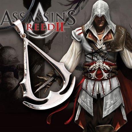 [Assasin's Creed 3]Медальон стальной кулон ассасин ниндзя игры фильм