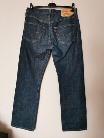 Jeansy Levi's 501 W32 L32 straight leg dżinsy spodnie Levis