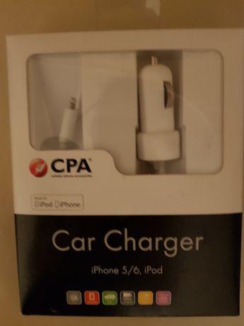Ładowarka samochodowa CPA iPod iPhone nowa