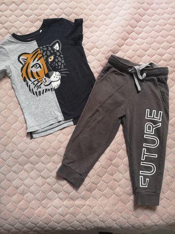Koszulka i spodnie c&a i 51015 rozm 92