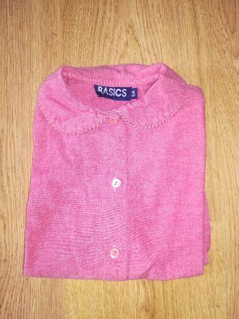 Camisa menina Gola redonda