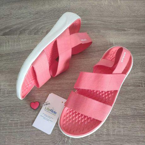 Женские сандали Крокс CROCS Women's LiteRide™ Stretch Sandal ОРИГИНАЛ