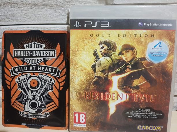 Ps 3 Resident Evil 5 Gold Edition