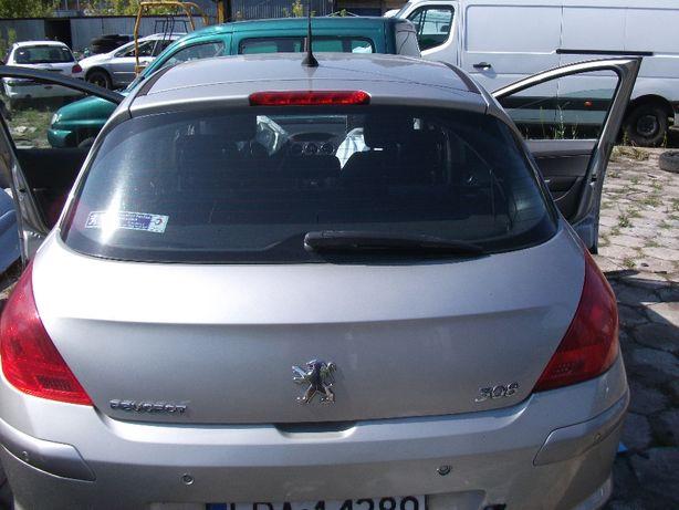 Klapa tył Peugeot 308, 2007r, kod lakieru ETSC wersja 5d