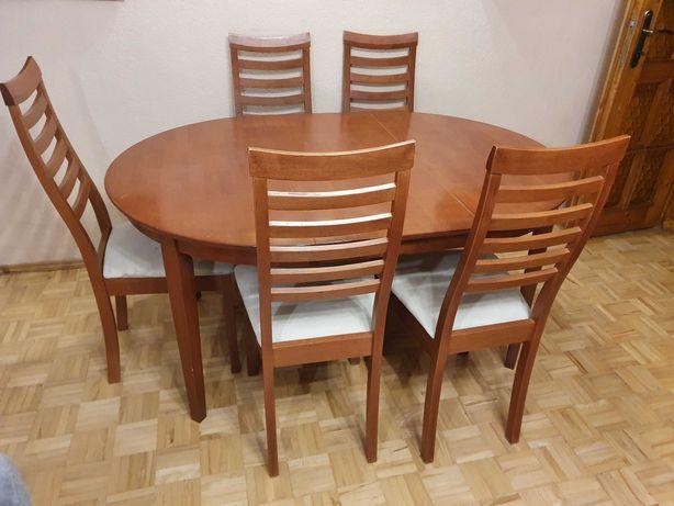 Sprzedam stół i krzesła! Bardzo dobry stan. Polecam