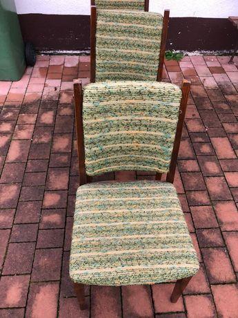 Krzesła drewniane PRL Radomsko