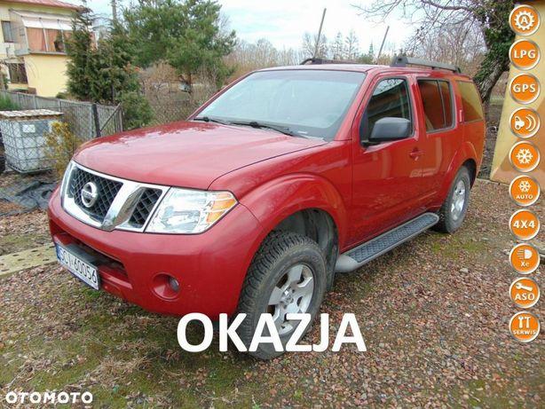 Nissan Pathfinder FULL MAX 4x4 Skóra GAZ LPG UszkodzonySilnik SuperStan OKAZJA+Gwarancja