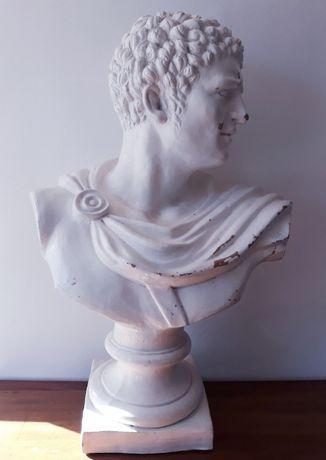 Busto de grandes dimensões. Emperador Romano Escola Italiana. Sec XIX