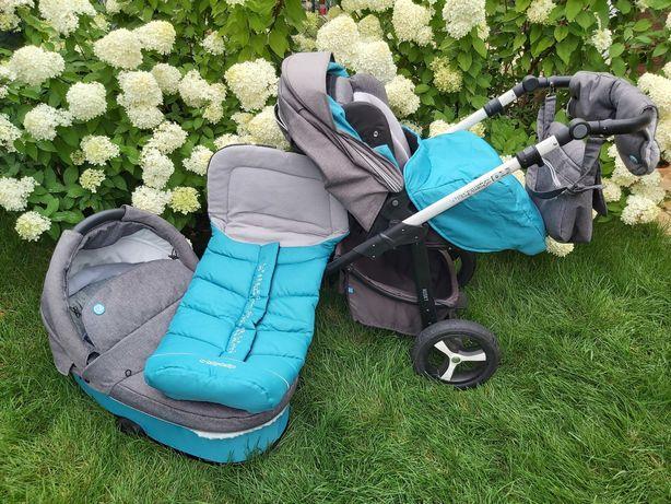 Wózek 3w1 baby design husky