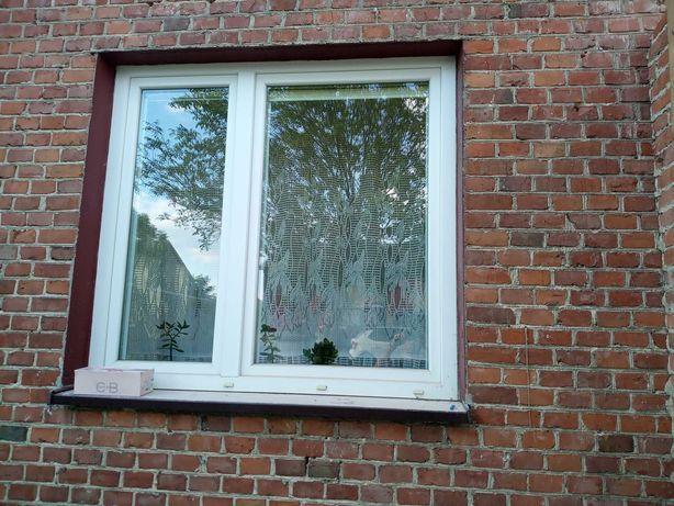 Okna używane PCV dwuszybowe 2008 rok