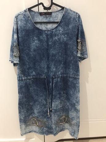 Sukienka jeansowa, stan idealny, rozmiar M
