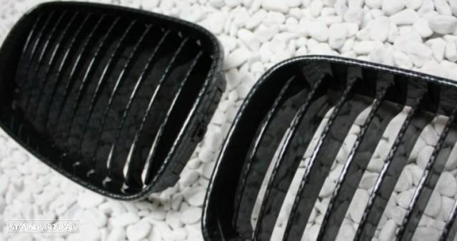 Grelhas Frontais Bmw Serie 1 - E81 E82 E87 E88 - - Pintura Carbono