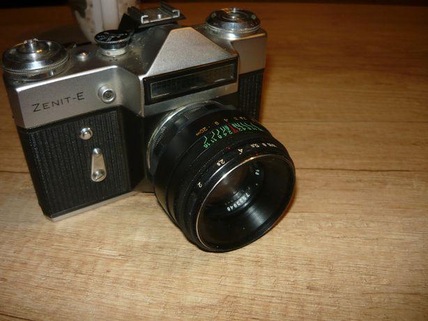 kolekcja aparat zenit e obiektyw helios plus gratis inny okazja