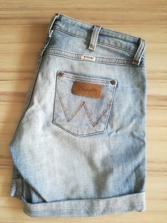 Spodenki jeans Wrangler roz 27