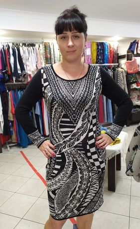 Трикотажное платье Cooi, 46 рзмер