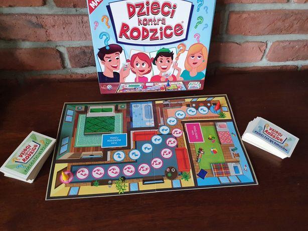Gra rodzinna maxi dzieci kontra rodzice