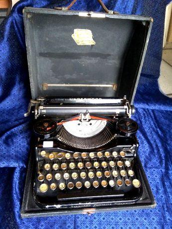 Máquina Escrever Underwood 4 Bank Keyboard Portátil