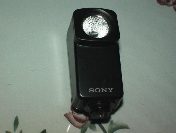 OKAZJA! lampka SONY HVL-10 6V 10W Na akumulatory NP-55 i większe.