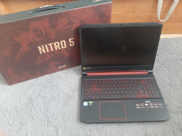 Acer Nitro 5 - i5 9300H, ssd 500GB, GTX 1050, 8GB ram - jak nowy !
