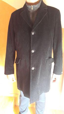 Płaszcz męski czarny rozmiar 56