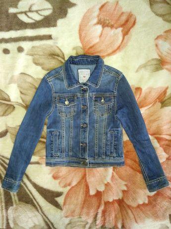 Классная детская джинсовая курточка