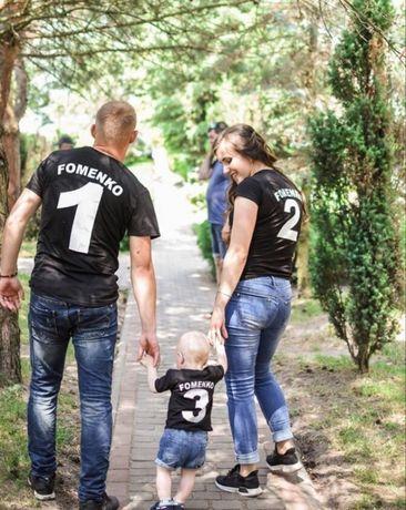 Именные фемели лук. Family look семейные футболки, свитшоты, худи