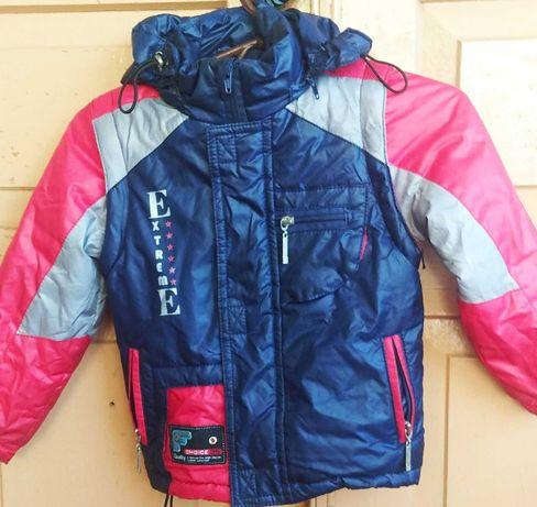 Куртка жилетка осенняя на мальчика