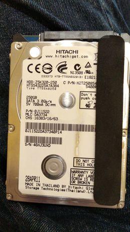 "HDD винтчестер жесткий диск HITACHI 250GB 2.5"""