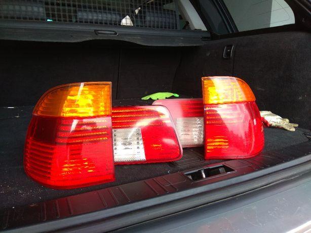 Lampy BMW E39 Lift Hella orginał