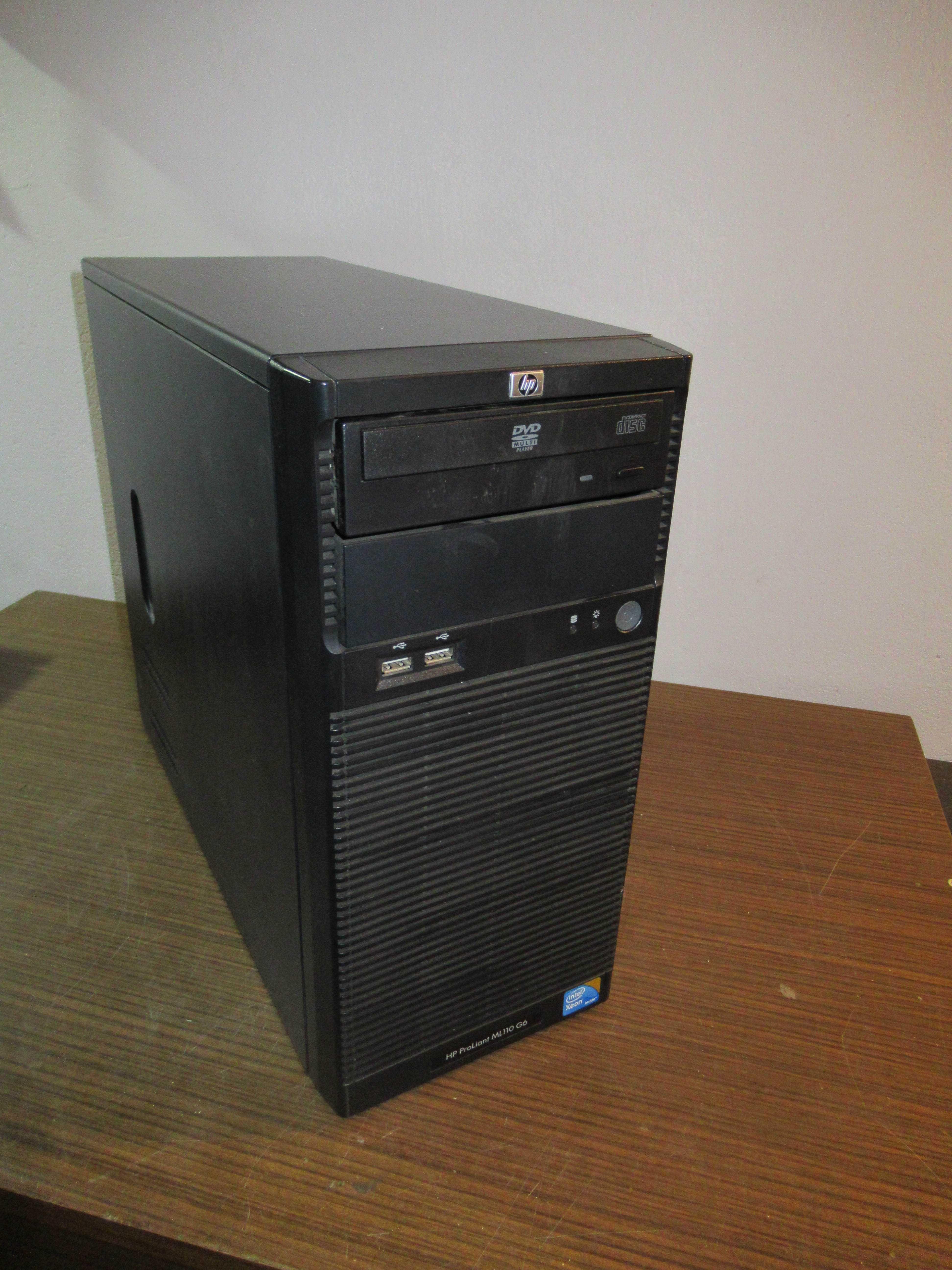 Obudowa HP z oryginalnym zasilaczem + Napęd DVD SATA