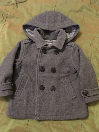 Пальто (курточка) Zara шерсть 82 см