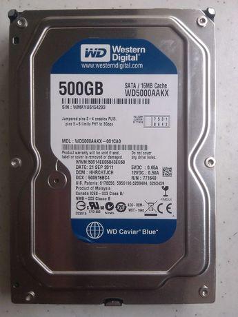 HDD Жесткий диск 500ГБ Western Digital WD5000AAKX