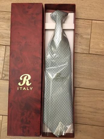 Мужской галстук 100% шёлк
