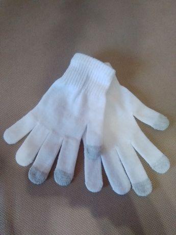 Перчатки сенсорные.