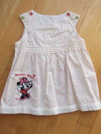 Vestido Minnie 9-12m