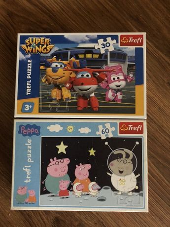 Puzzle Peppa Pig i Super Wings