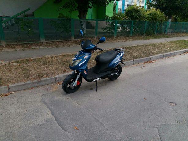 Скутер keeway в хорошем состоянии