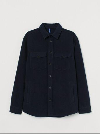 h&m куртка рубашка сорочка шерсть