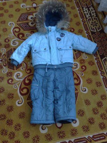 Зимний комбинезон Донило ПУХ р. 92 -98 модель Фермер , оригинал