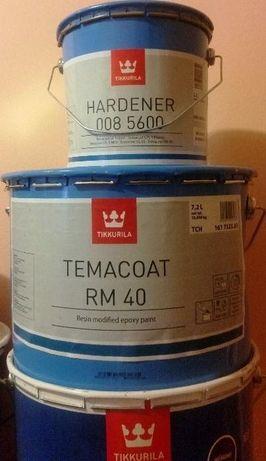 Farba epoksydowa/żywica epoksydowa do betonu Tikkurila/szary RAL7001