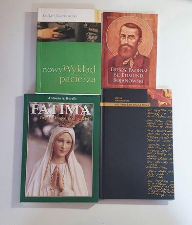 Książki,Fatima,Nie obrażam się na Boga,nowy wykład pacierza,Bojanowski