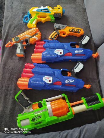 Pistolety na strzałki nerf