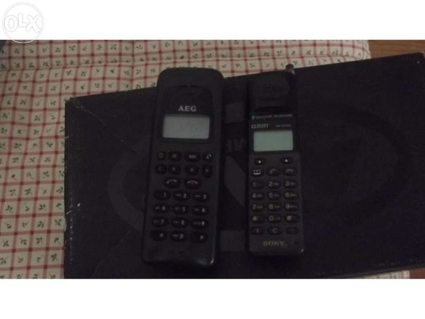 3 Telemóveis / 2 Vintage + 1 / HTC Vodafone Normal / C / Extras