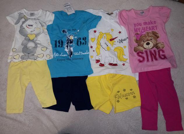 Дитячий літній одяг новий